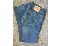 Bulk lot assorted men's designer jeans available to purchase seperate