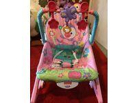 Baby Girl Chair/Rocker Fisher-Price