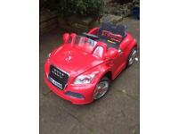 Electric ride on car for kids Audi