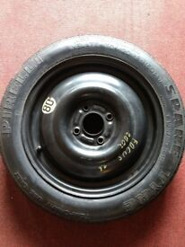 Unused 15'' Space saver wheel for Ford Fiesta/Focus/Fusion