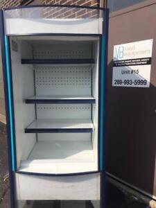 IFI Refrigerated Open Air Cooler, Grab-N-Go, Display Merchandiser