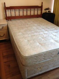 Double divan bed - £40 or nearest offer
