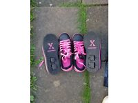 Wheeles skate shoes size 4