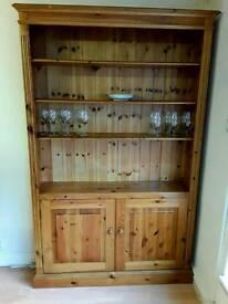 Pine bookcase/dresser