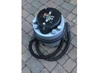 Wet & dry vacuum with tools & instructions