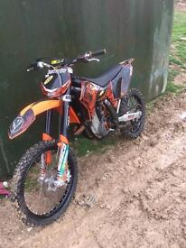 KTM 250 4 stroke 2009 mint bike