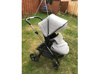 Silver Cross Pioneer Pushchair & CarryCot