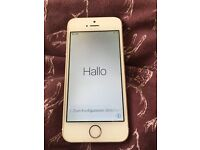 Apple iPhone 5s 64gb white & gold working & in good condition