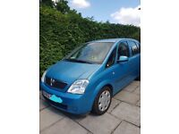 vauxhall meriva spares or repairs still runs good engine MOT until end of this month