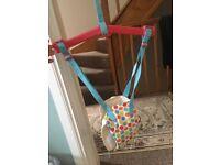 Baby door jumper