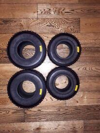 BRAND NEW Unused Mojo Wet Tyres (Minimax) (Stored Inside)