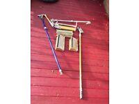 "12""box 10""box boxing pump corner roller 2 handles for sale £600"
