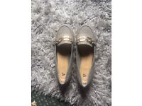 Womens grey loafer