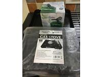 Brand new gas stove & kettle