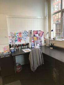 Creative studio share/desk space