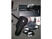 OSMO DJI hand held 4K camera