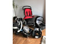 Mamas & Papas complete travel system with extras VGC