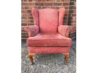 Wing Chair like Parker Knoll in chenille