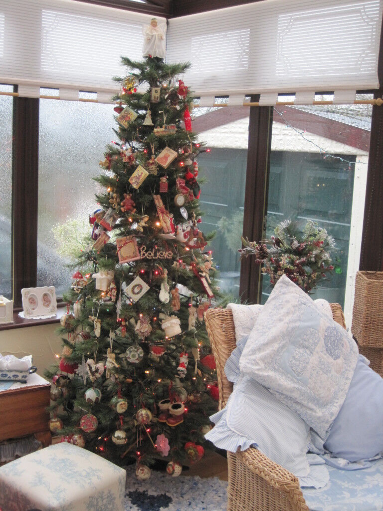 6ft high [Artificial] Norwegian Pine Christmas Tree | in Grenoside ...