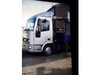 ford cargo wìth haib crane