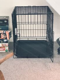 Small foldable dog cage
