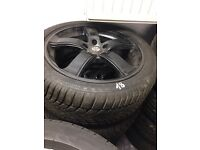"Alloys 18"" winter tires Audi A4 a6 a8 r8"