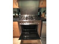 Range cooker dual fuel hotpoint