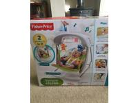 Fisher Price woodland friends baby swing. £45.00