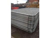 💫New Round Top Heras * Temporary Security Fencing Sets