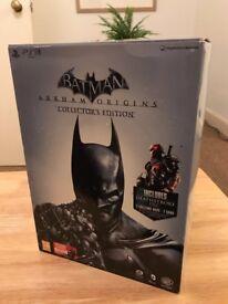 Batman Arkham Origins Collector's Edition - Batman & The Joker Figurine