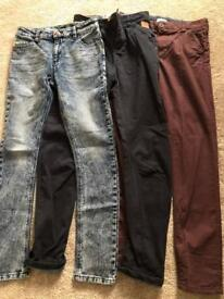 Boys Next Chinos/Jeans Fit Age 12yrs