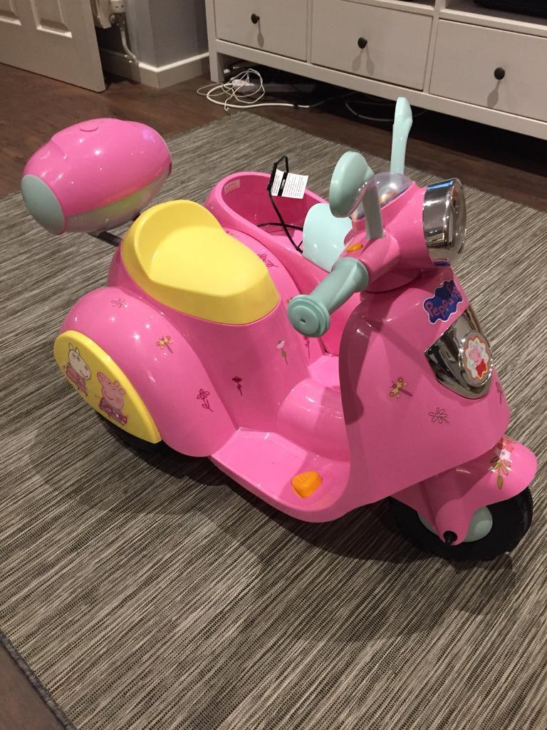 Peppa Pig 6V Electric ⚡️Ride On Side Car