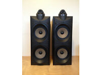 Wharfedale modus Five speakers.1990's made in england version.