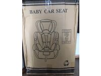 car seat still boxed double present.