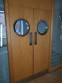 Door port holes