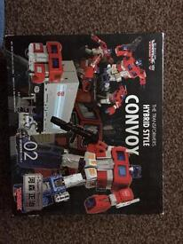 Rare transformers TAKARA, T.H.S. 02, hybrid style convoy, Optimus prime, action figure, toy,