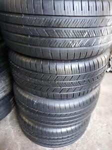 4 summer tires Goodyear eagle ls-2 225/50r17 runflat