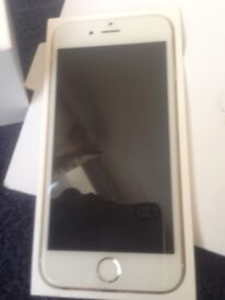 Good Condition iPhone 6 Gold 64GB on Vodafone, Lebara, Ownphone & Zest4 Mobile