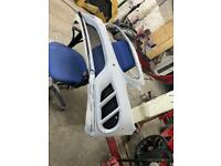 C Class W205 C43 AMG Front Bumper with One of a kind Insert Canards