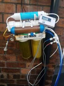 R0 unit marine fish tank