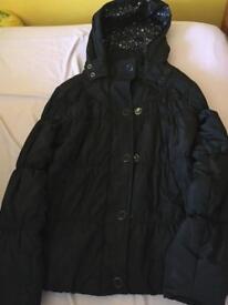 Girls Coat ( Black)