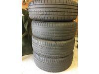 215/45/17 Tyres on Subaru 17 alloy wheels