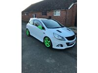 Vauxhall corsa VXR Artic edition No. 291 Of only 500 made