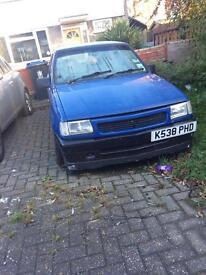 Vauxhall nova 1.8 not running