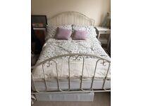 Laura Ashley ivory bed frame
