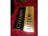 Champagne Glasses - Ritzenhoff Champus Rurik Mahlberg x 2