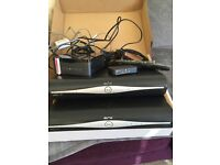 Sky+ HD boxes, remote, router and all cables