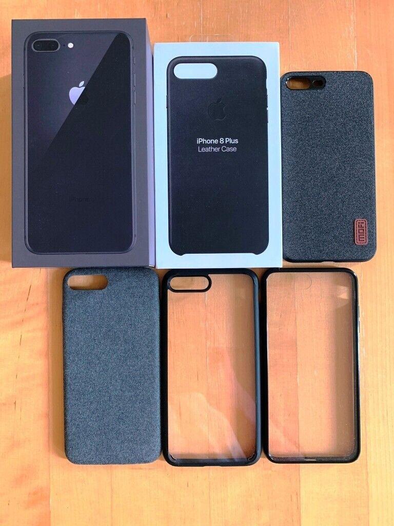 outlet store d6b59 76962 Apple iPhone 8 Plus 64 GB Space Grey Bundle - Like New, Unlocked, dbrand |  in Bradford, West Yorkshire | Gumtree