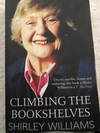 Shirley William biography in paperback