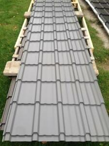 Shake Style Steel Roofing Two Colours Available